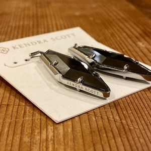 Kendra Scott Hematite Bexley Drop Earrings